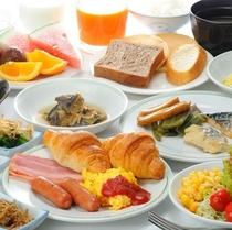 ♪和洋バイキング朝食♪