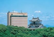 ホテルコンコルド浜松と浜松城