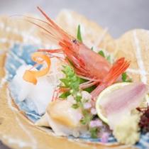 <和洋のお料理一例>富山の新鮮なお造り