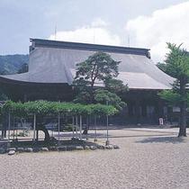 井波別院 瑞泉寺 本堂