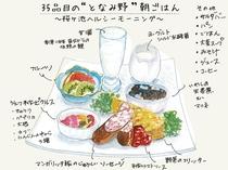 """35品目の""""となみ野""""朝ごはん"""