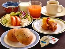 【朝食バイキング一例】洋風