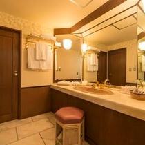 ジュニアスイートルーム洗面