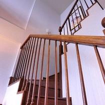 【メゾネットスイート】階段