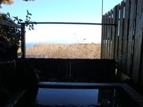 海の見える露天風呂