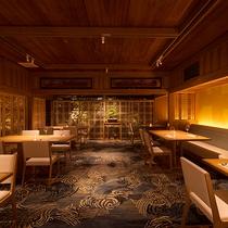 幻想的な中庭に佇む離れレストラン『寿泉~Jusen~』