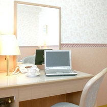 シングルルームはビジネスユースに最適