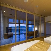 汀館 最上階【特別室】寝室