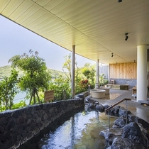 望館6階「風見の湯」露天風呂