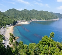 【瀬会海水浴場】ホテルより車で約30分
