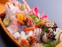 鮮魚舟盛例