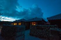 夜の島宿願寿屋