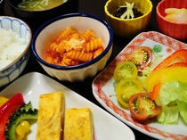 【朝食】日替わりメニューなので連泊でも食べ飽きしません!