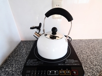 【客室】お部屋でお湯が沸かせます
