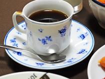 【朝食】嬉しい♪食後のコーヒー付です