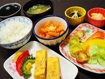 【朝食】日替わりメニューの一例 和食