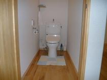 ウォシュレットの洋式トイレ