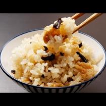 【お料理一例】炊き込みご飯