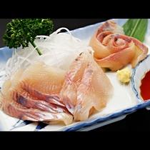 【お料理一例】岩魚のお刺身