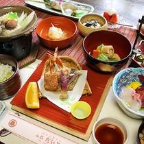 *[ご夕食]季節の食材をつかい一品一品真心込めて作った「豆腐料理膳」