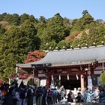 *[大山阿夫利神社]大山登山の前にはここで安全祈願を!
