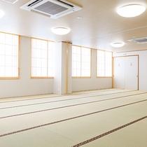【団体宿泊室】38畳の和室は2つに分けることも可。大家族さんや合宿に♪