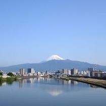 狩野川からの富士山