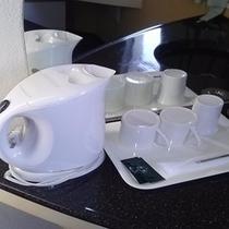電気ポットお茶セット
