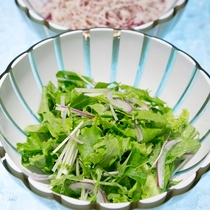 【朝食】サラダ