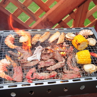 【BBQ】機材レンタル付&食材持ち込みプラン