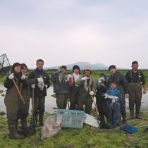 伝統漁法「すけ漁」を体験できます