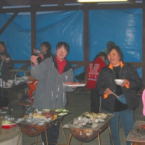 【BBQ】お肉や魚介類などもりだくさん!