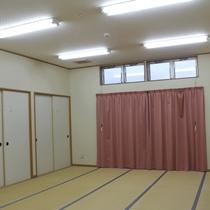 *研修棟には大きな畳の部屋が3つございます