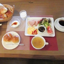 ★朝食は洋食メニューをご用意いたします。