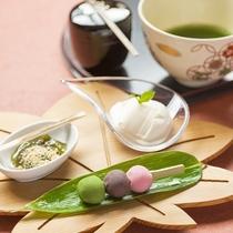 ウエルカムスイーツ~和菓子屋プロデュースならではの極上菓子でおもてなし・・・