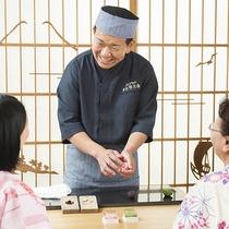 和菓子練り切り体験~夜8時からのnight sweets!!