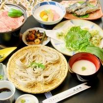 ☆料理_夕食_蕎麦