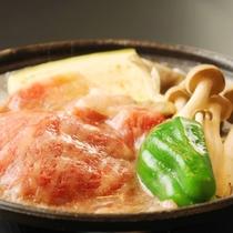 ☆料理_夕食_信州牛陶板焼き (3)