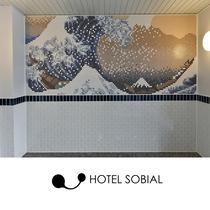 大浴場壁画