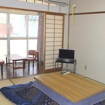 【和室6畳一例】湯治場ならではのシンプルなお部屋