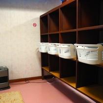 【大浴場】女性の脱衣場