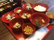 精進料理 肉・魚介類を使用せず素材の味を生かしたお食事