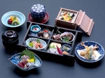 夕食・老舗料亭の京料理の仕出し