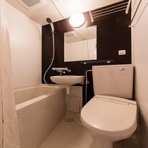 綺麗なバスルームで快適
