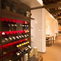【レストラン・BAR】 シャンパンやワイン、焼酎なども幅広く取り揃えております