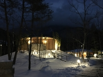 オン・ザ・ヒル 夜景 冬