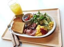 モーニングメニュー(朝食)