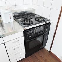 *長期滞在にもおすすめ。システムキッチン完備です。