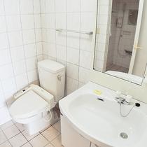 *お部屋はのバスルーム 広々としていて使いやすいです。