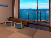 9階新・プレミアムビュールーム(和洋室)畳スペースからの景色